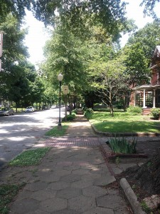 Chattanooga has some wonderfully walkable neighborhoods!