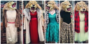 lion headed dressees